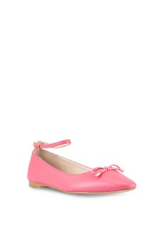 6b8b93490d 50% OFF Velvet Ankle Strap Ballet Flats HK$ 199.00 NOW HK$ 99.90 Available  in several sizes