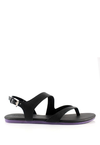 STEFANIA BALDO black Macayla Sandals ST294SH31HPSID_1