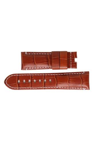 STRAPS brown Straps-Leacrc-2422 ST324AC79QHGID_1