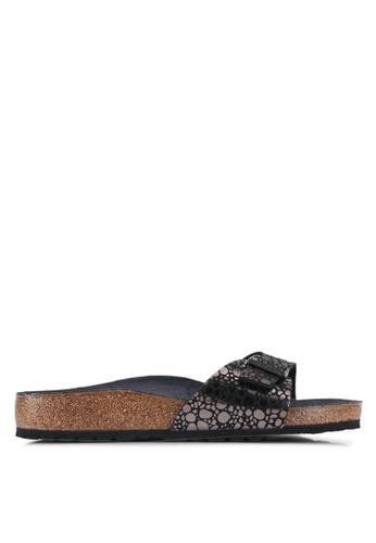 Birkenstock black Madrid Sandals 7DA50SH6B5B83FGS_1