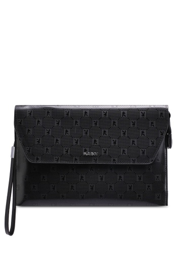 Playboy black Playboy Clutch Bag 4CCDAACE71BE12GS_1