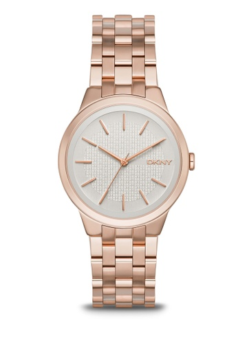 dd9bacd2c0341 DKNY gold Ladies Park Slope Rose Gold Plated Watch NY2383 79676ACE11B91DGS 1