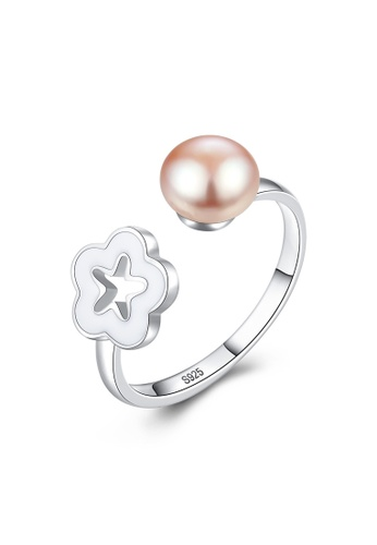 A.Excellence pink Premium Pink Pearl Ring A5782AC3A1F5CBGS_1