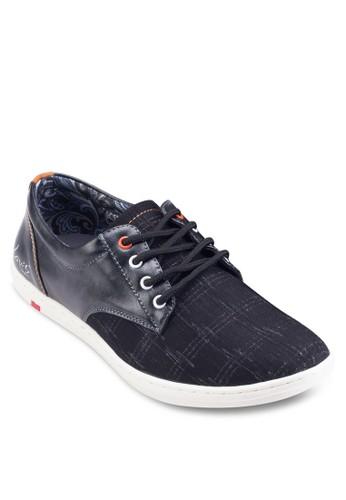 基本款帆布拼接休閒鞋, 鞋, esprit 京站鞋