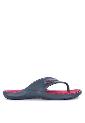 Rider red and blue Cape XII Ad Flip Flops F8521SHC1F0D8AGS_1