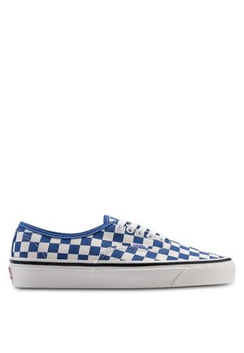 VANS blue Authentic 44 DX Anaheim Factory Sneakers FC792SHB375445GS_1
