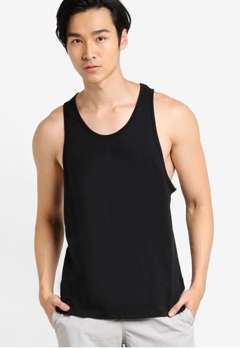 Topman black Black Classic Vest TO413AA75HWAMY_1