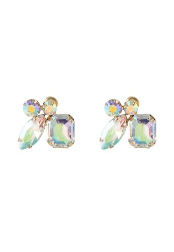 ALDO multi Tralle Pierced Earrings 3EB77AC1E0E394GS_1