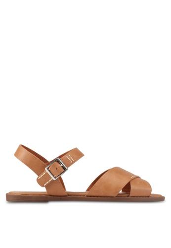 Bata brown Harper Sandals 6EC92SH9038787GS_1