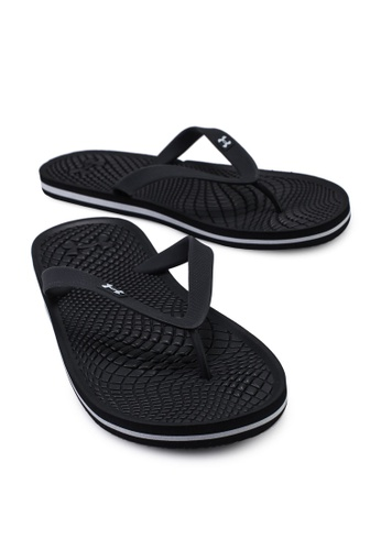 under armour atlanticdune youth flip flops black