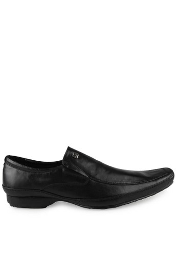 Marelli black Angelo Leather Shoes MA036SH62ZZHID_1