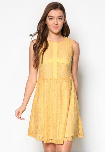 Terry 蕾絲無袖洋esprit 童裝裝, 服飾, 洋裝