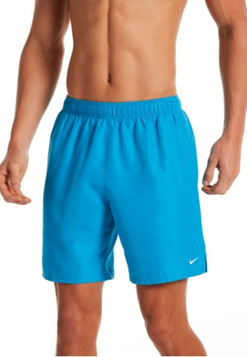 "Nike blue Nike Swim Men's Essential Lap 7"" Volley Short B70D5US357C01BGS_1"