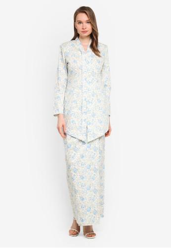 Butik Sireh Pinang white Baju Kebaya Moden Eryna B43BAAA9BCBAD7GS_1