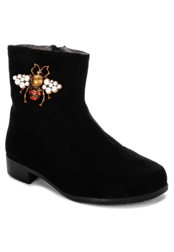 S&H black Brynn Boots EDC57KSF83FCD0GS_1