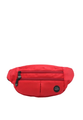 OPTIONS red Hike Waist Pouch 5EA3FAC26733C6GS_1