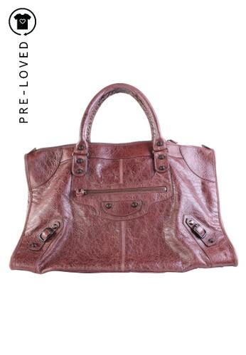 cerca Hija Anzai  Buy BALENCIAGA Pre-Loved balenciaga Castagna Work Bag Online | ZALORA  Malaysia