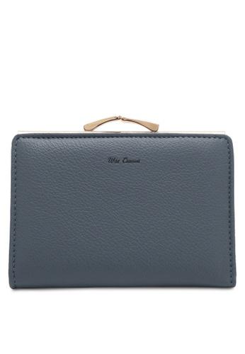 Wild Channel blue Women's Bi Fold Wallet BCE7CACE7F5221GS_1