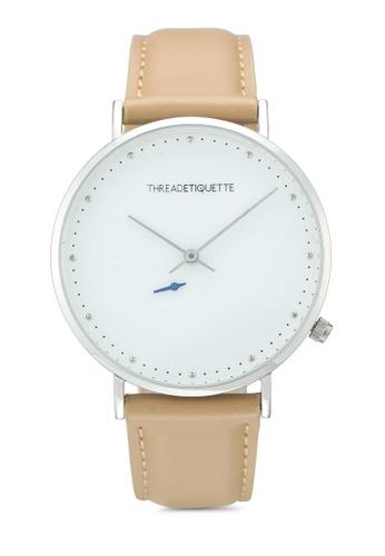 Thread Etiquette brown Chrono-Tan Timepiece 0E47CACDF69FDBGS_1