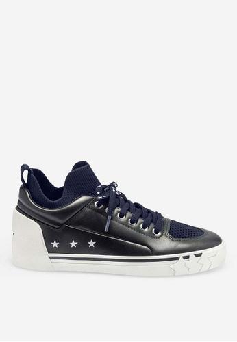 ASH black Nippy - Black Knit High-Top Sneakers 2022BSHC24C7ABGS_1