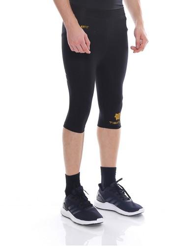 Jual Tiento Tiento Man Compression Half Pants Black Gold Celana Legging Leging Selutut Pria Olahraga Original Original Zalora Indonesia