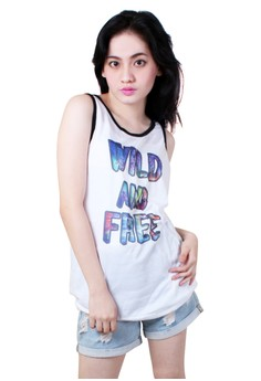 Capitalized Wild and Free Quotable Printed Sando