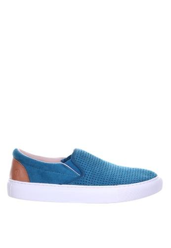 PRODUIT PARFAIT blue Punch Slip On Sneaker D41AFSHA41F9D2GS_1