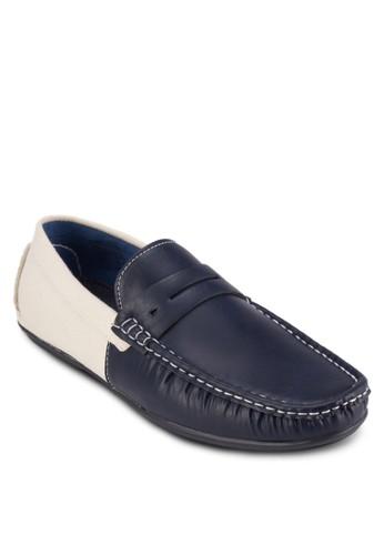 撞色莫卡辛鞋, 鞋zalora 順豐, 懶人鞋