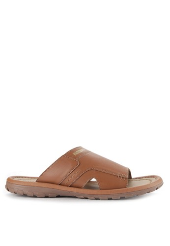 Watchout! Shoes brown Sandals Slip On WA021SH0VXYVID_1