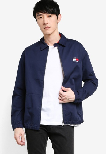 Tommy Hilfiger navy Tjm Casual Cotton Jacket - Tommy Jeans 43A62AA6BCA8BAGS_1