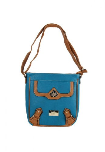 DNJ blue Casual Styling Sling Bag DN487AC04RDJPH_1
