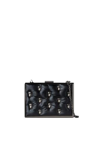 KARL LAGERFELD black K/Ikonik 3D Pin Minaudiere DFB49ACFCED904GS_1