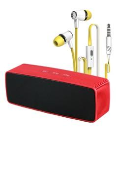 Portable Wireless Bluetooth Speaker with Earphone JM21