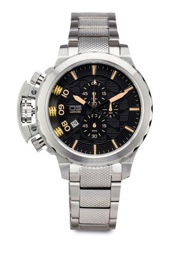 Carlo Cardini silver Carlo Cardini CX5 005G-SS-4 Gents Watch CA038AC51LEAMY_1
