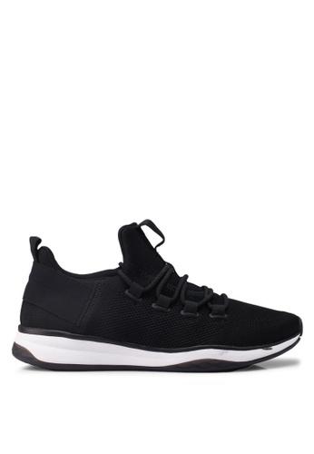 ALDO 黑色 編織風運動鞋 02483SHC622BCAGS_1