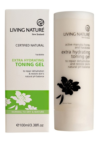 Living Nature black and white Extra Hydrating Toning Gel LI761BE62MARMY_1