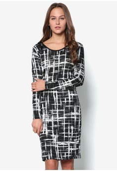 Lexi Abstract Print Dress