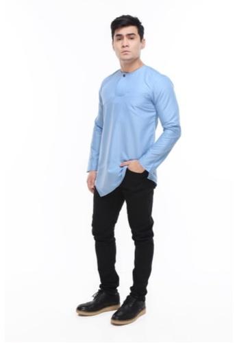 Amar Amran blue Kurta Al Fattah 2.0 5B4F7AAD1A44A9GS_1