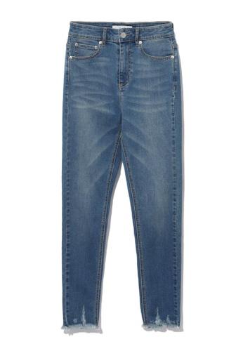 b+ab blue Skinny jeans 7F86AAAA979E38GS_1