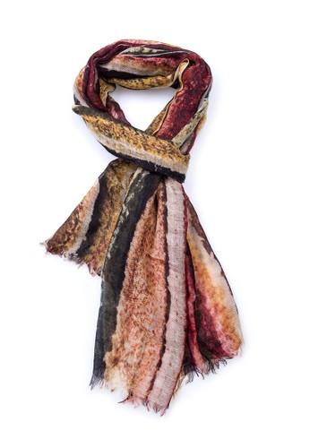 堆esprit 衣服疊之美印染披肩, 飾品配件, 披肩