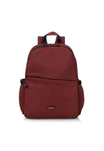 Hedgren red Hedgren Women Cosmos Large Backpack 2 Compt. 13IN Vineyard Wine - 14.6L 7F9B3AC42687EDGS_1