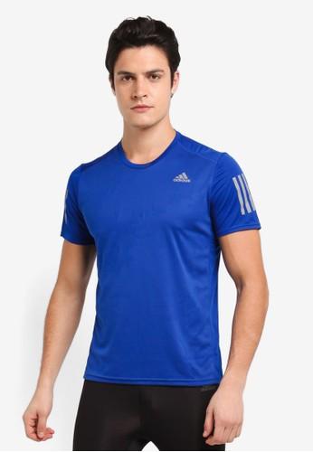 adidas blue and multi adidas response tee m 4366AAAD644C01GS_1