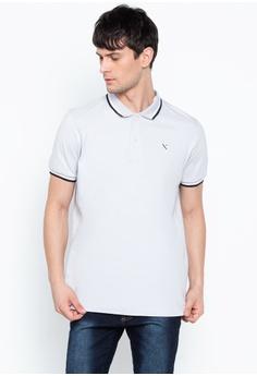 46e5e1ab2d5 REGATTA grey Polo Shirt With Contrast Trim 13FD4AA42BDDC7GS 1