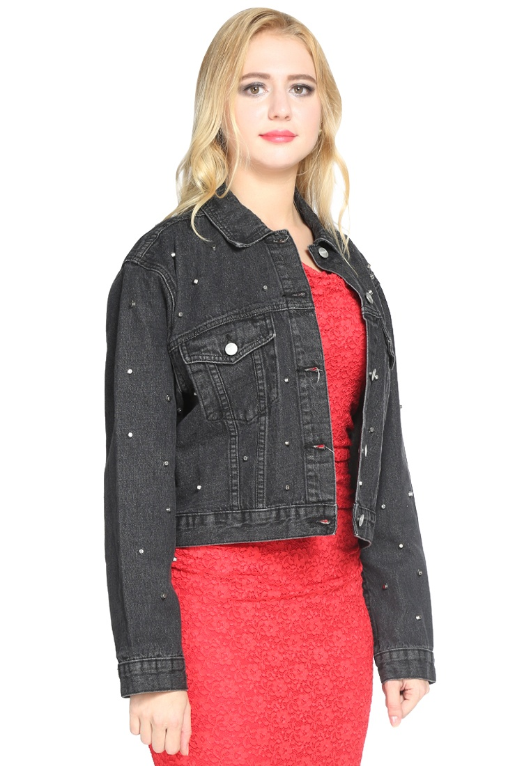 BLACK Jacket CL7309 Rag Black London Women London Rag Denim w0YxIqBU