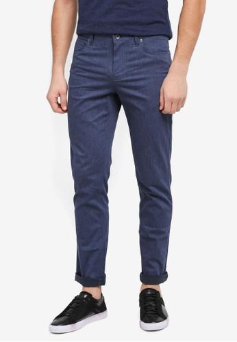 G2000 blue 5 Pocket Informal Slim Pants 71A2AAAFF20E3FGS_1