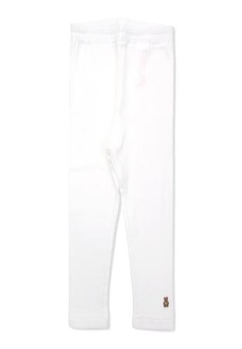 Organic mom white Organic Cotton  Britney Bear Leggings B450BKA240F07BGS_1