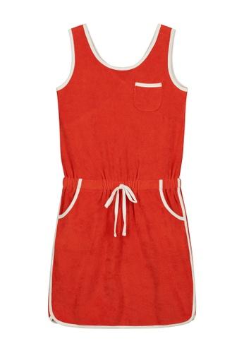Shiwi red Terry Dress E6A10KA7A05C43GS_1