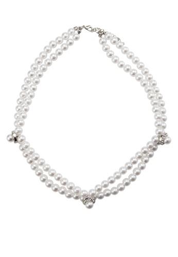 雙層珍珠項鍊, 飾品配件, 項esprit outlet 台灣鍊