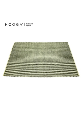 HOOGA grey and green and multi and beige Hooga Rug Egret Silver 160X240cm 59DD6HLF492CD7GS_1