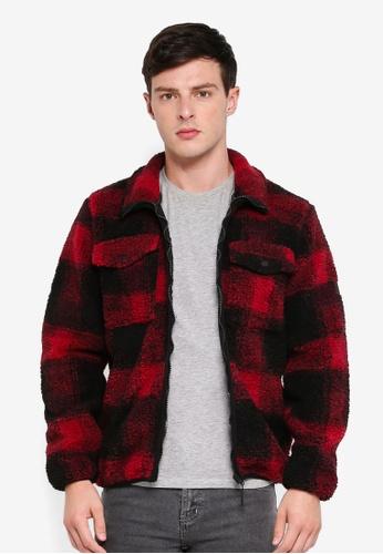 6a5578fb0 Marin Checkered Sherpa Jacket